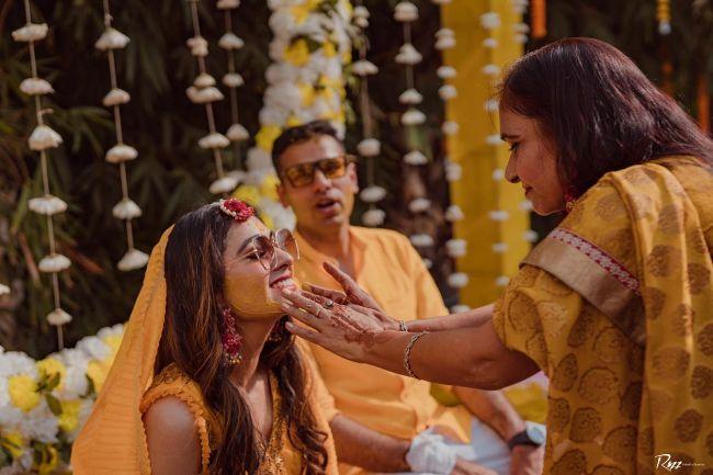 rituals | haldi | indian wedding