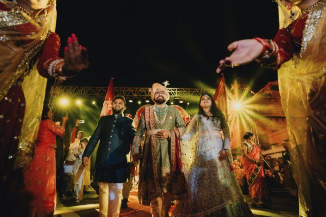 groom entry idaes | Destination Wedding in Udaipur