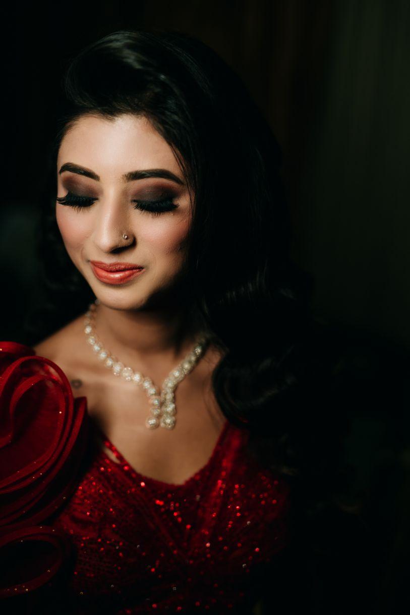 bridal eye makeup | indian bride