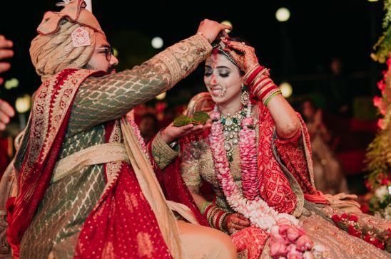 sindoor ceremony | indian wedding rituals | Destination Wedding in Udaipur