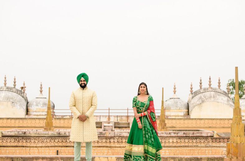 indian wedding | couple photo ideas | trending poses