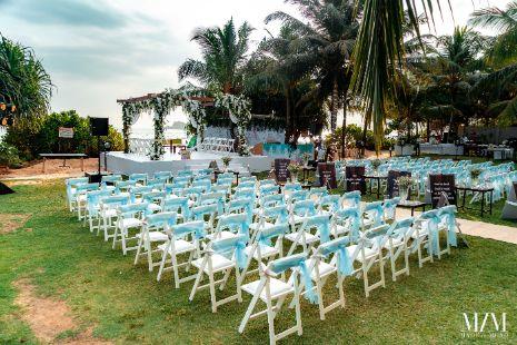 chair decor | Beach Wedding in Sri Lanka