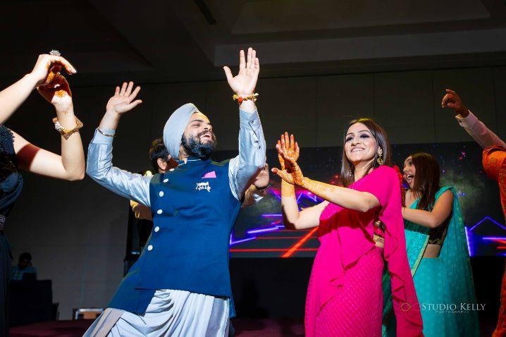 dancing | fun at indian weddings