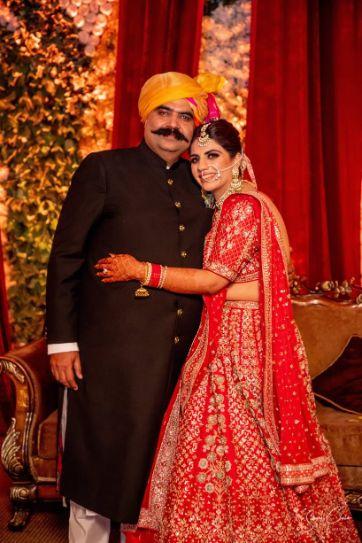 father of the brides | indian wedding photography | Anita Dongre Wedding Lehenga