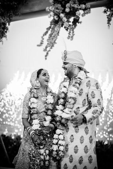 couple photography | varmala moments | Beach Wedding in Hua Hin