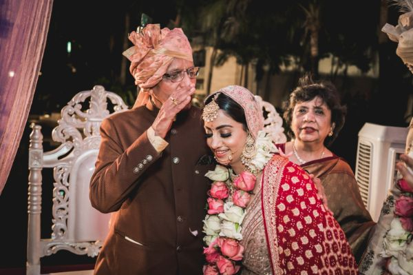 father of the bride | emotional moment | Beach Wedding in Hua Hin