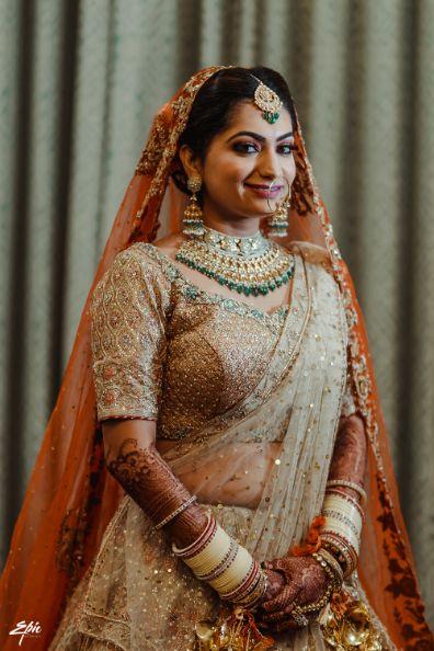 beautiful indian bridal photo shoot | Wedding at Ramoji Film City