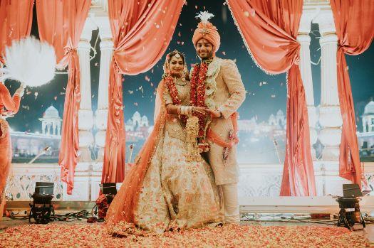 beautiful indian wedding decor | Wedding at Ramoji Film City