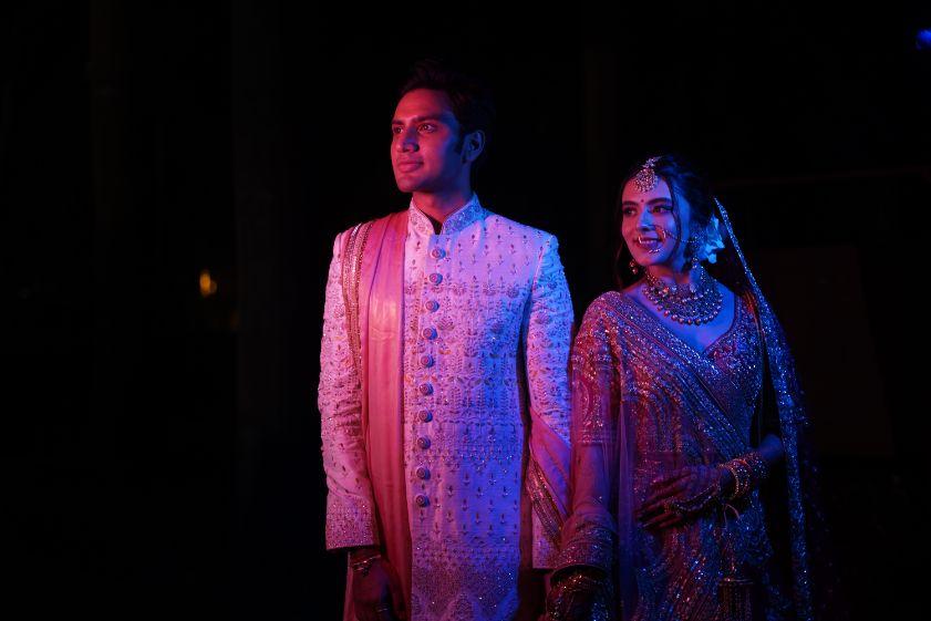 couple portrait ideas   indian wedding   Prettiest Mumbai Wedding
