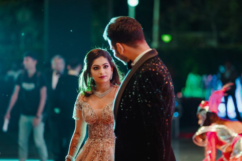 candid couple capture | Wedding at Ramoji Film City