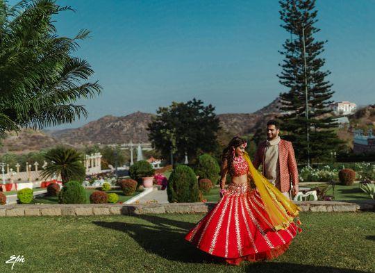 twirling bride  | Wedding at Ramoji Film City
