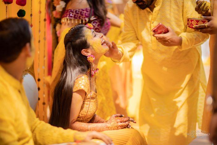 indian wedding rituals | Cutest Haldi Ceremony