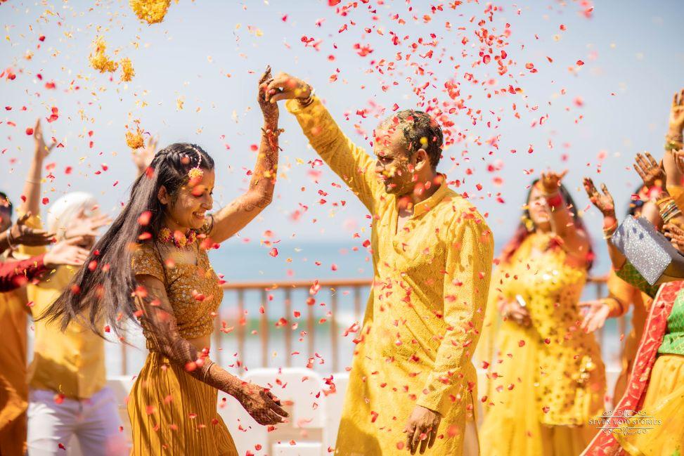 Beautiful Beach wedding in Goa