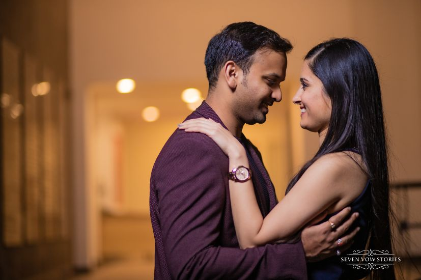indian couple photography in trend