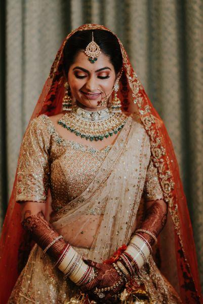 beautiful bridal makeup ideas  Wedding at Ramoji Film City