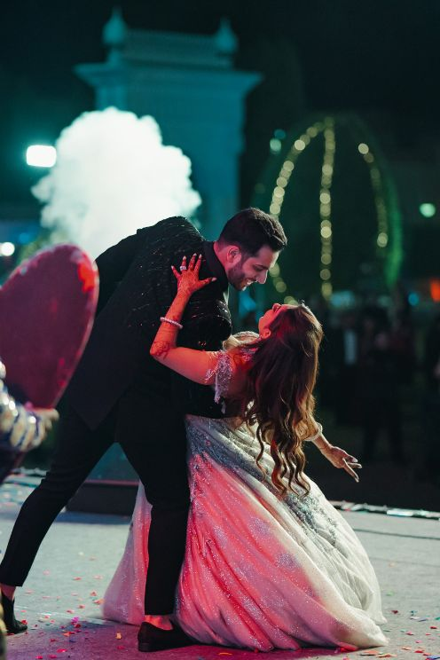 couple dance | sangeet ceremony