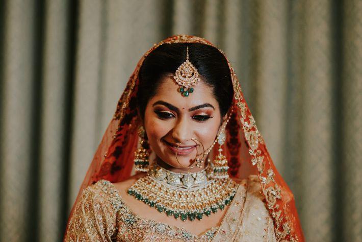 stunning indian bridal portraits | Wedding at Ramoji Film City