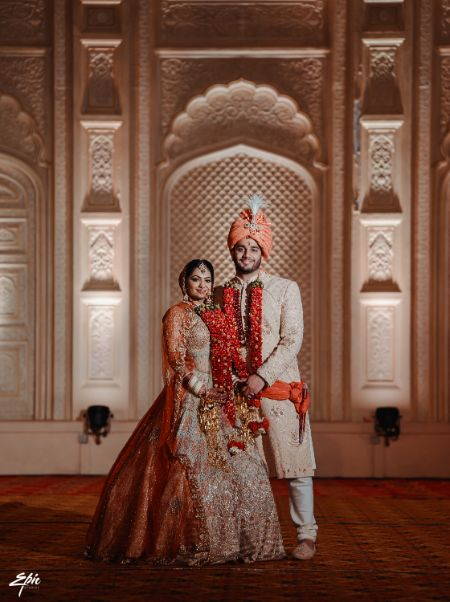 stunning couple portrait shoot | Wedding at Ramoji Film City