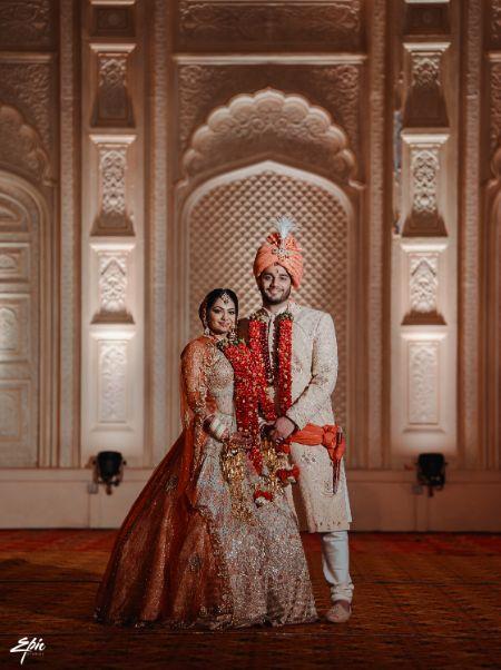 stunning couple portrait shoot   Wedding at Ramoji Film City