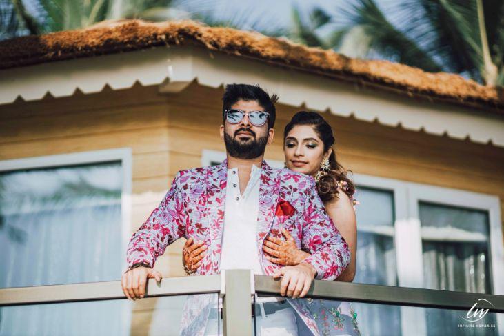 mehendi fucntion | papa dont preach outfits | indian wedding in goa | goa wedding