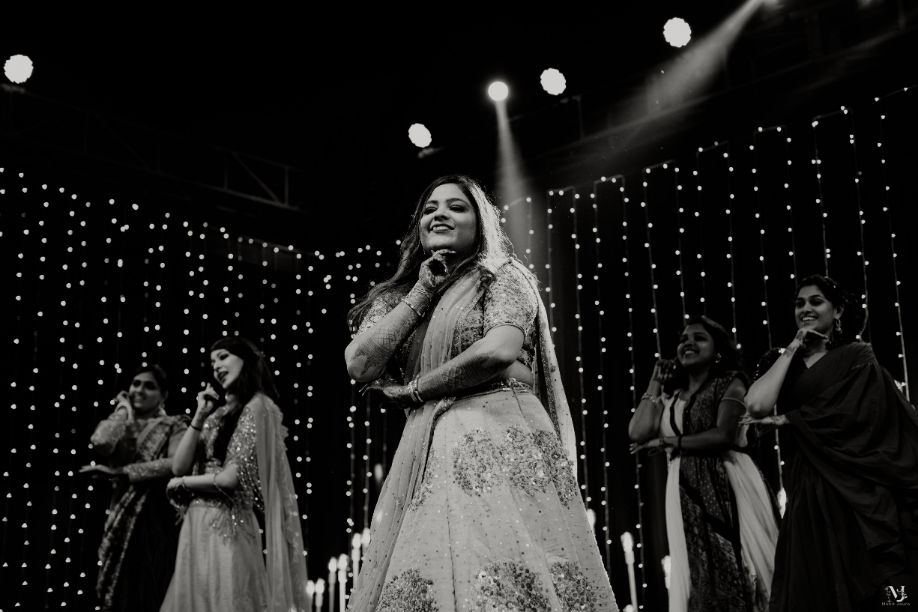 indian bride groom dancing , Rajasthani wedding   DIY lehenga design   Bridal hairdo   footear   boss bride customised   wittyvows real wedding  