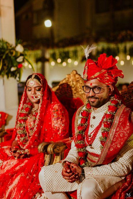 Rajasthani wedding   DIY lehenga design   Bridal hairdo   footear   boss bride customised   wittyvows real wedding  