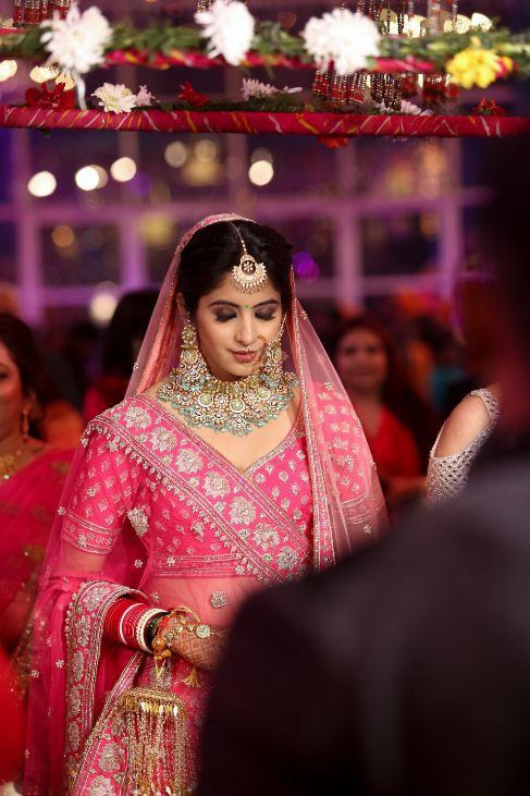 indian bridal entry | indian wedding 2020 | delhi wedding