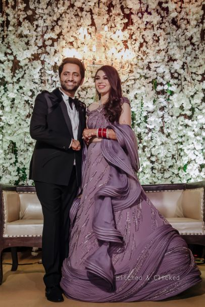 gaurav gupta reception outfit , gaurav gupta saree , indian bridal wedding entry | sabyasachi bride , sabyasachi lehenga , red bridal lehenga , wedding decor , indian wedding | decor ideas for weddings , destination wedding , wedding at Fairmont, Fairmont Jaipur, Mehendi decor ideas, wedding entry