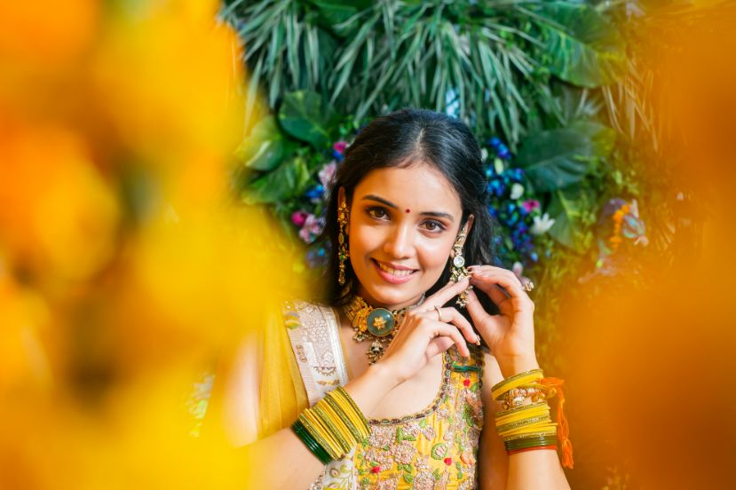 indian bridal , lehenga  , wittyvows , weddings , indian bride , bridal lehenga , Lockdown wedding | intimate wedding | Wedding at home