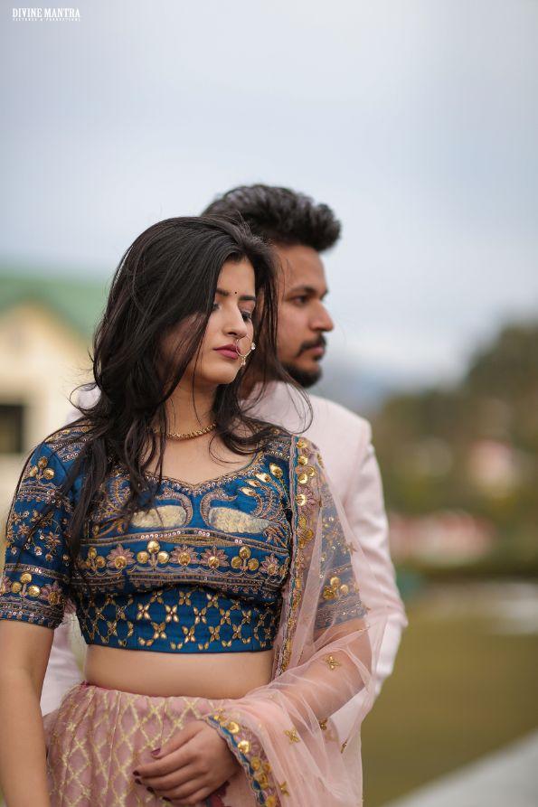 pre wedding shoot , indian pre wedding , wiityvows , hill station wedding | wedding in Rishikesh | riverside mandap