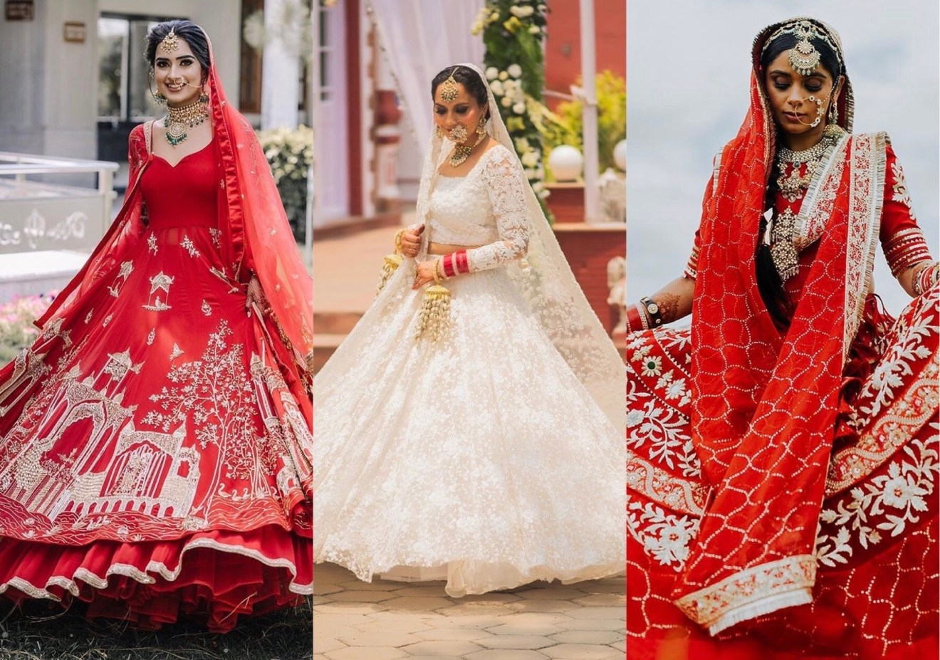 offbeat bridal lehenga