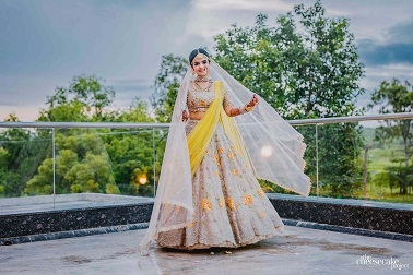 Indian wedding designer leehngas | Twirling bride | Pretty