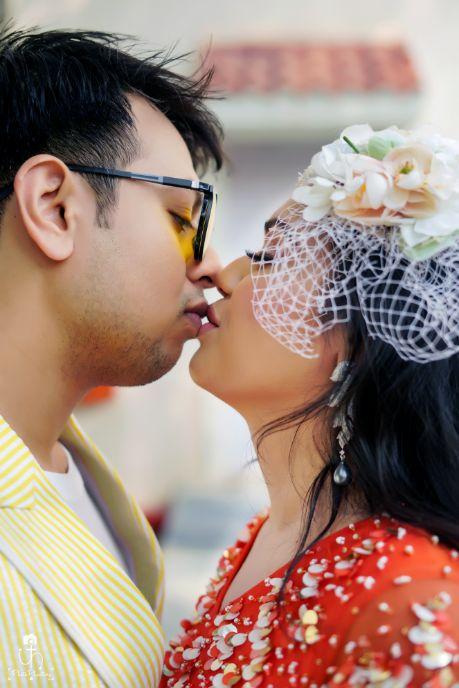 sealing it with a kiss | indian wedding diaries