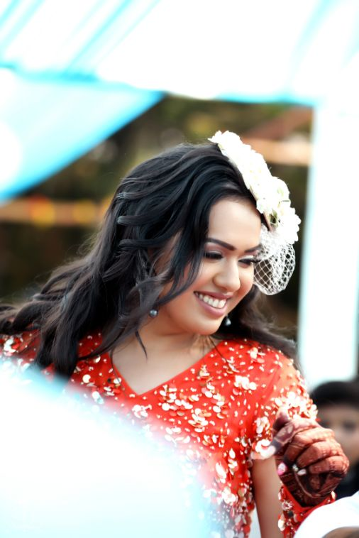 brides candid capture | indian wedding photography