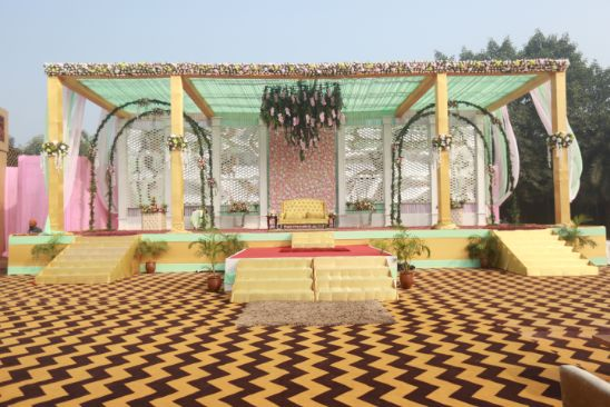 wedding venue   indian wedding venue   Pink Anita Dongre Lehenga