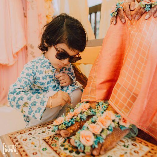 kids at indian weddings