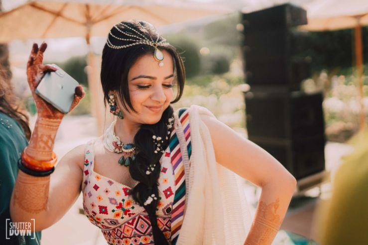 bridal hairstyle ideas   blouse design ideas for a bride