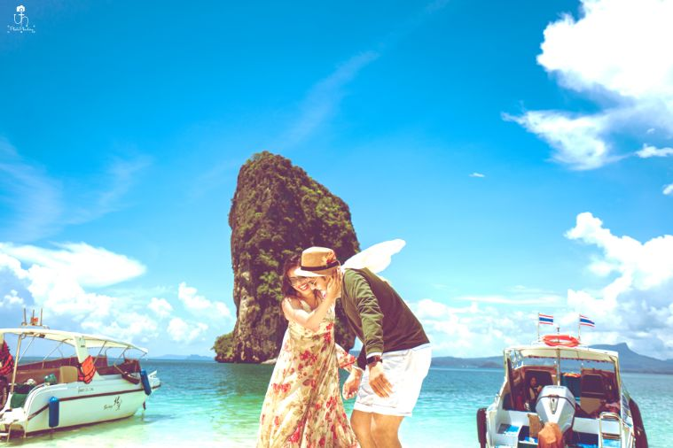 happy couple | pre wedding diaries | Beach Wedding in Alibaugh