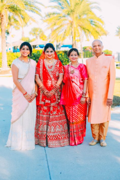 indain family at weddings , NRI wedding | long-distance love story