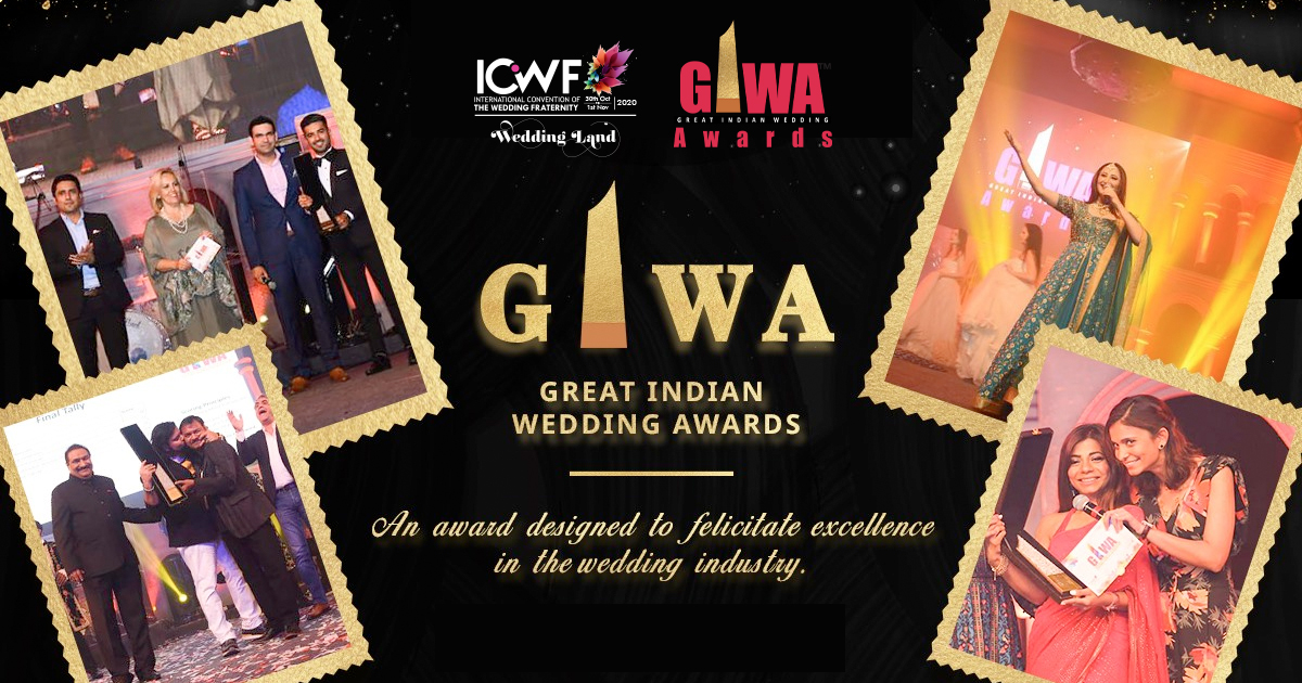GIWA Awards to reward the best indian weddings