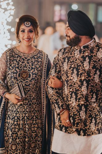 happy couple | sikh couple | indian wedding diaries