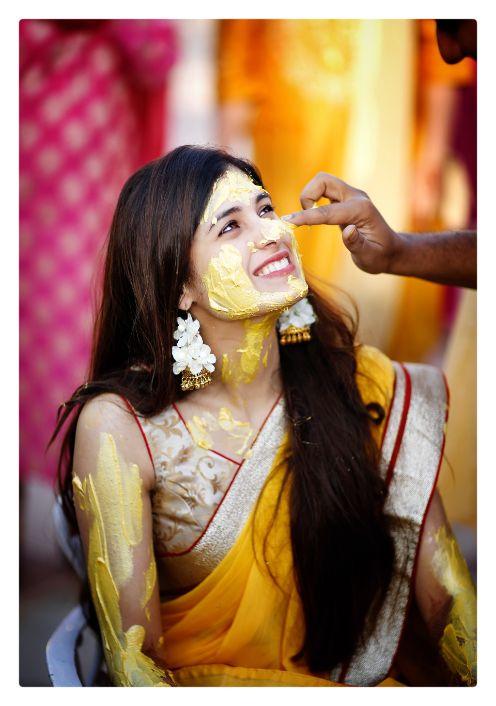 indian wedding photography | haldi ceremony
