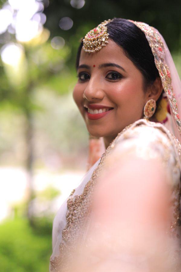 bridal candid photos | Intimate Wedding in Jim Corbett