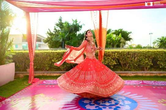 bridal outfit ideas | twirling bride |
