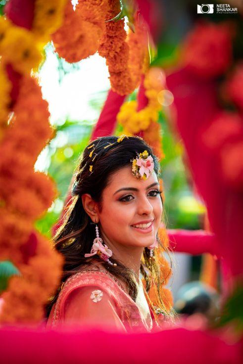 happy bride | bridal hairstyle ideas |