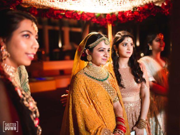 indian bridal entry ideas   Destination wedding in Fujairah