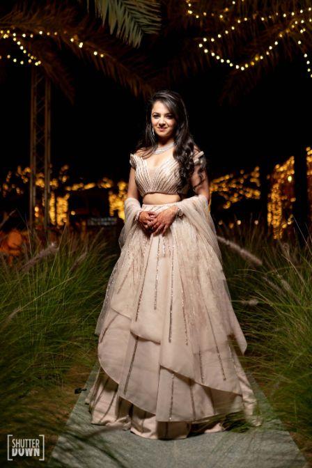 bridal light lehenga ideas