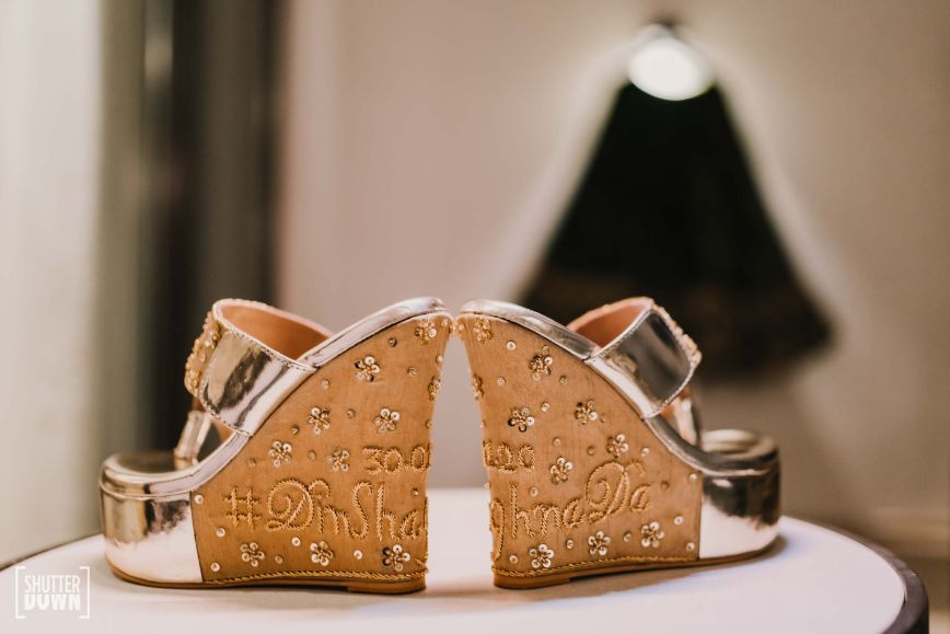 bridal footwear   wedges for the bride  Destination wedding in Fujairah