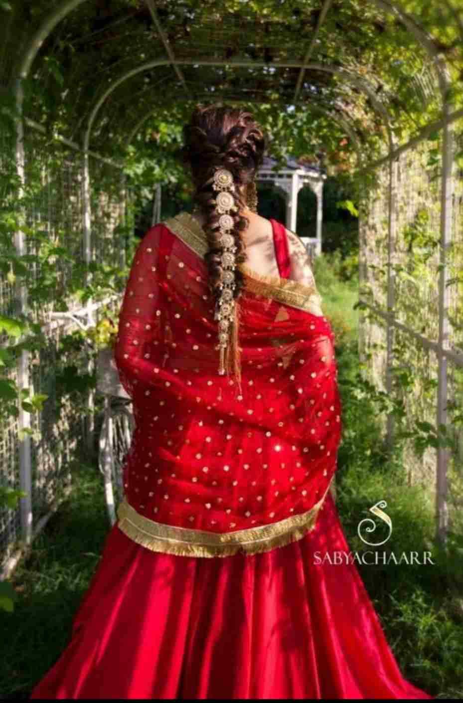 Bridal Choti | Bridal Jewelry | Bridal hair jewelry ideas