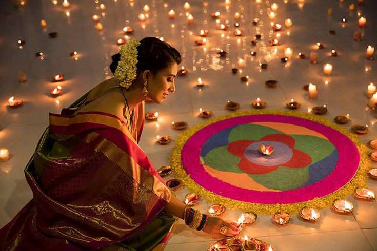 diwali rangoli | Diwali decoration ideas